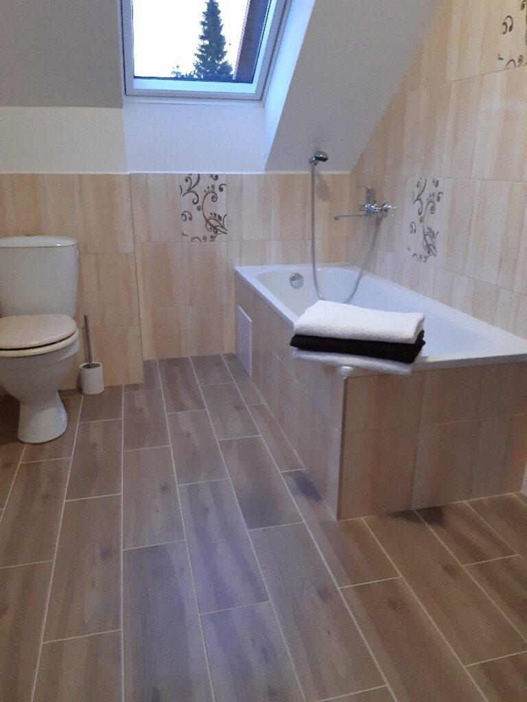 Chalupa u Lešků - koupelna 1NP