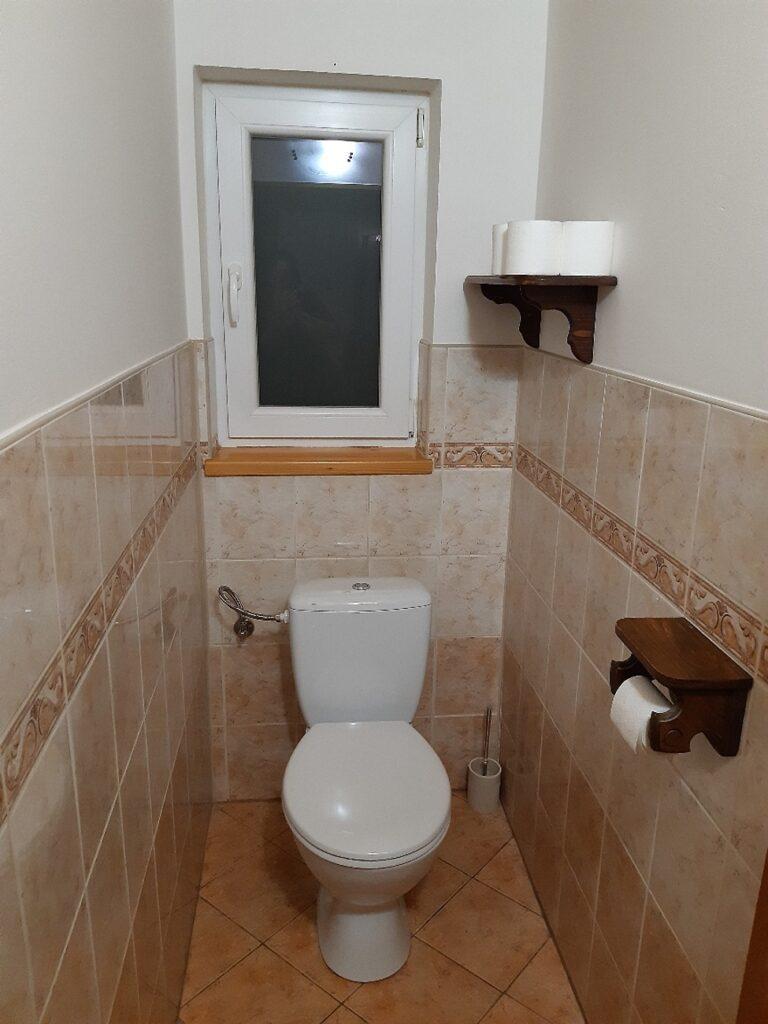 Chalupa u Lešků - WC přízemí